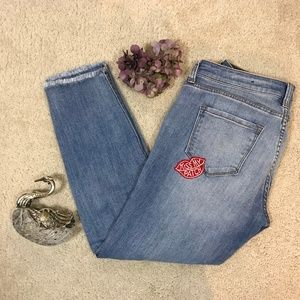STS Blue Jeans Distressed Patched Size 29
